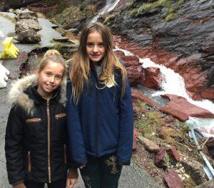 Davina und Shanaja